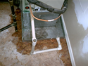 Drip Pan Leak Repair